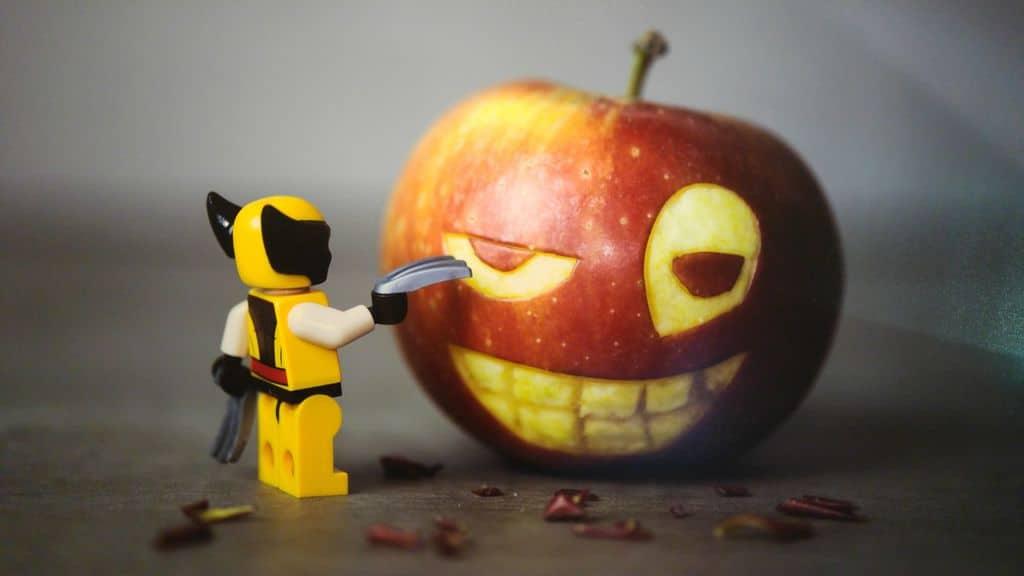 happycurio samsofy expo pomme lego