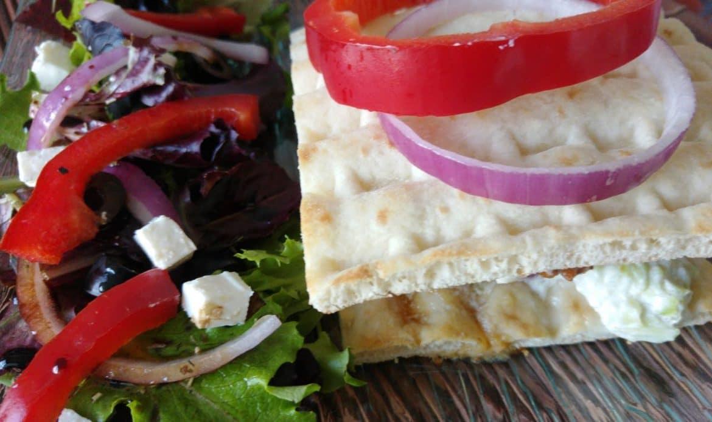 pita burger grec recette facile