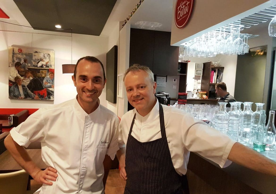 happycurio fabien dhondt eric hubert saveurs du bistrot bapteme de chef food and you lyon