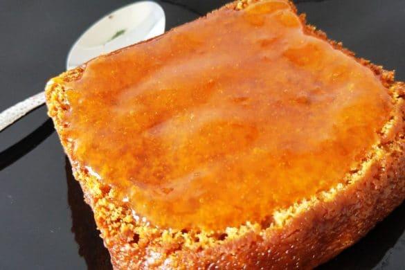 happycurio pain d'épices et confiture maison à l'abricot