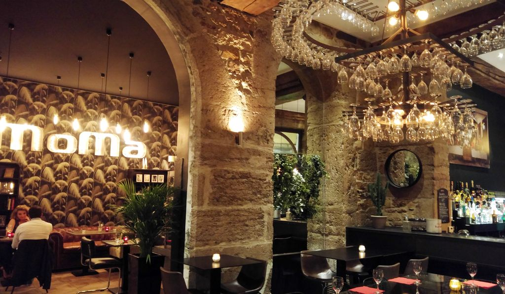 happycurio MOMA diner terrasse transat lyon