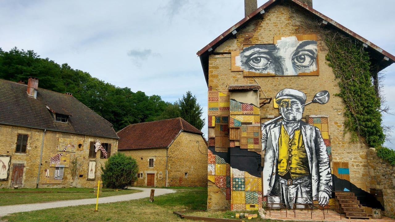 happycurio evazésir street art forges baudin jura mausa musee