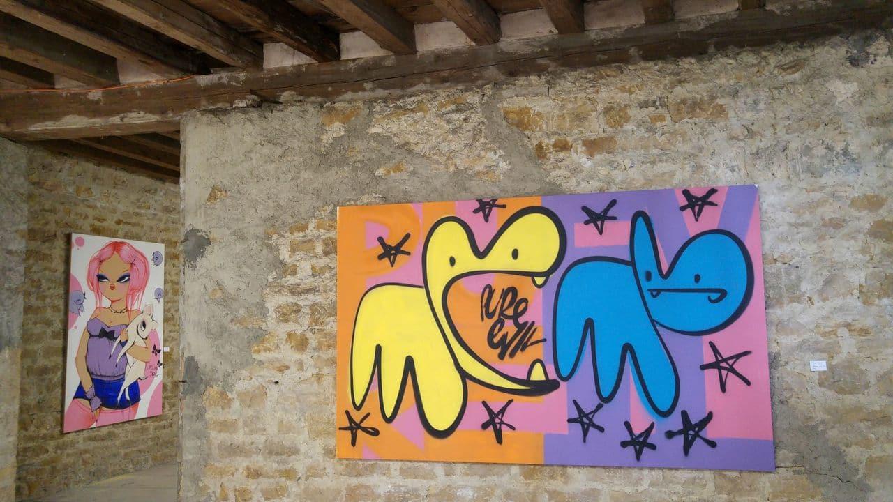 happycurio street artistes miss van pure evil mausa toulouse le chateau