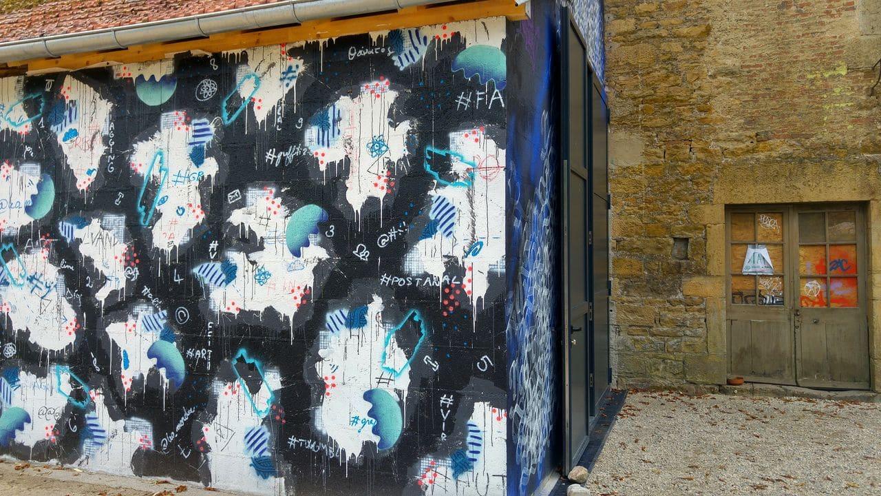 mausa forges de baudin 1er musee de street art france