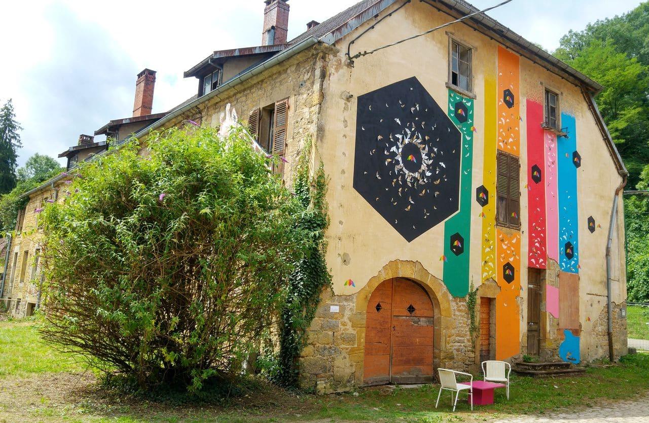 mausa mademoiselle maurice art urbain france