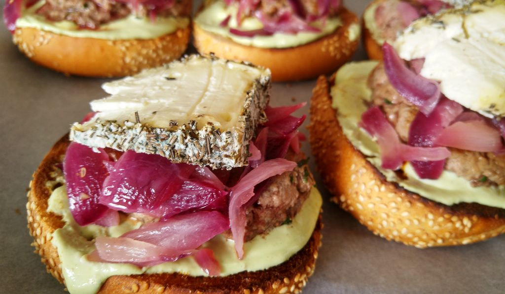 happycurio burger corse maison recette