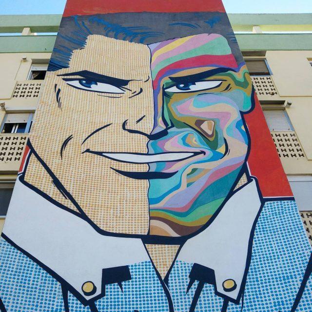 Il y a peu de street art  Sville maishellip