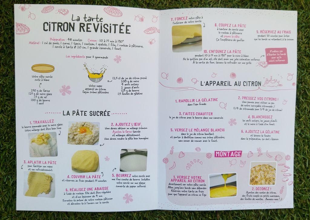 happycurio michel et augustin recette de tarte au citron