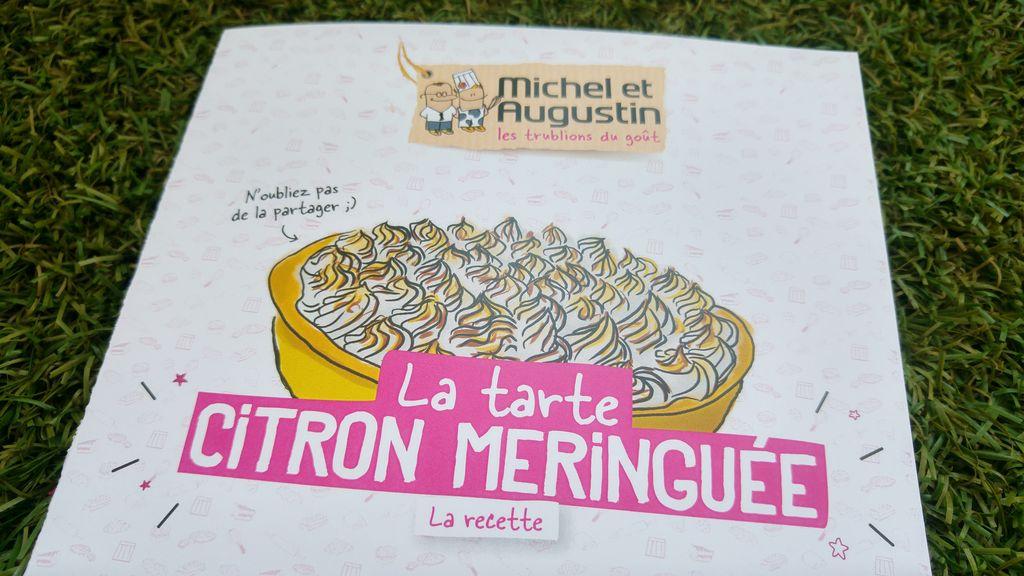 happycurio michel et augustin tarte citron recette revisitée