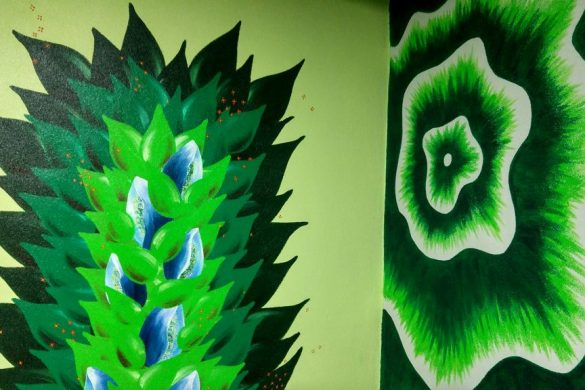 happycurio parking street art wall drawings 2