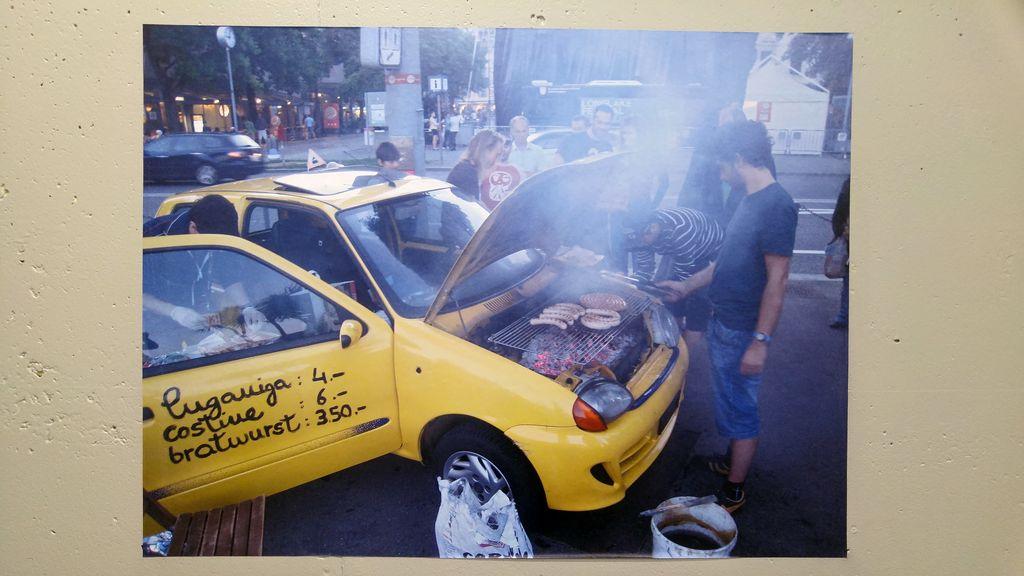 happycurio voiture detournée benedetto bufalino art urbain