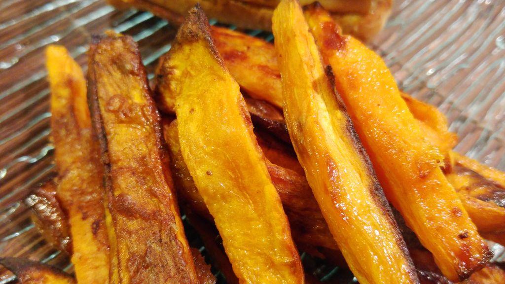 happycurio recette frites patate douce