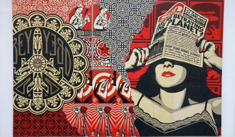 happycurio aerosol street art obey shepard fairey