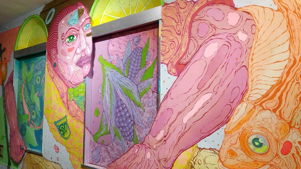 happycurio art urbain lyon expo ephemere musee de fourviere