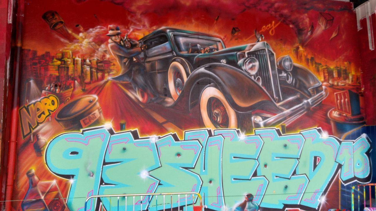 happycurio entrepot sncf exterieur street art