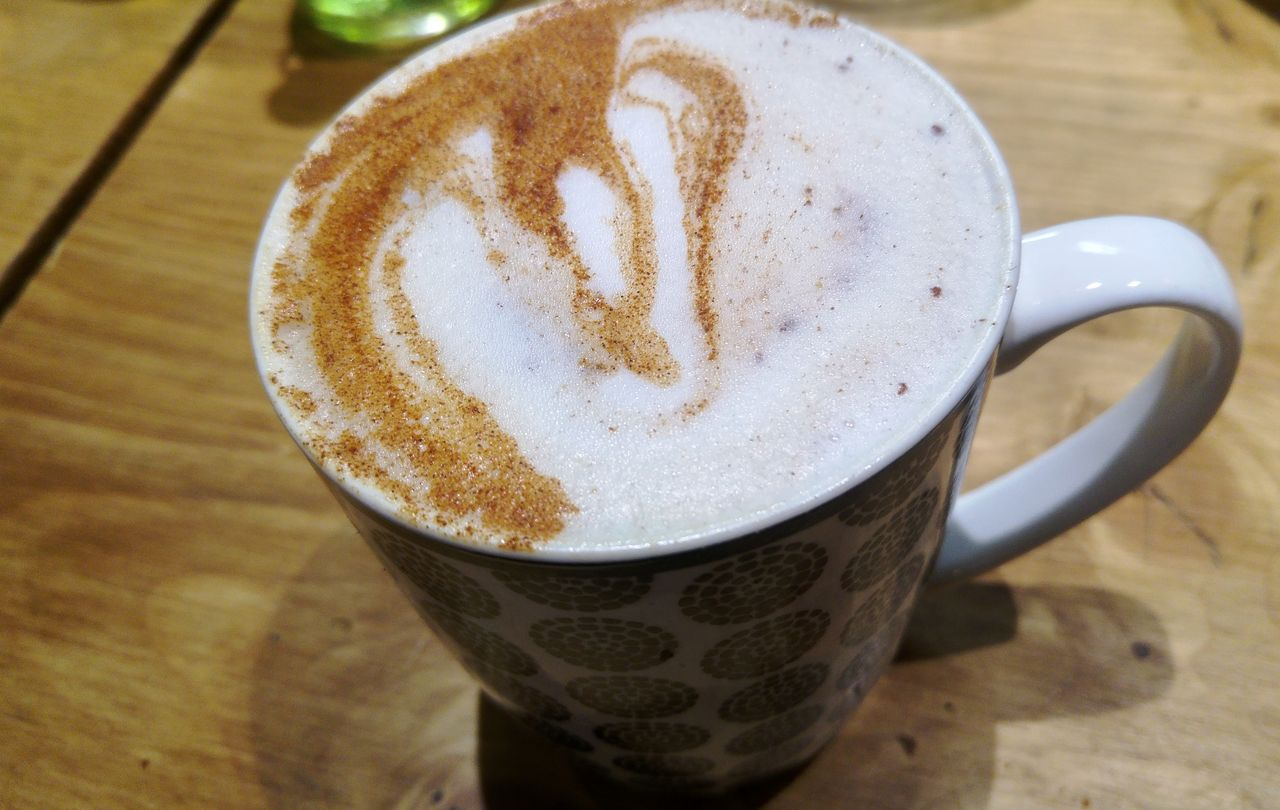 happycurio chai latte pog café lyon perrache