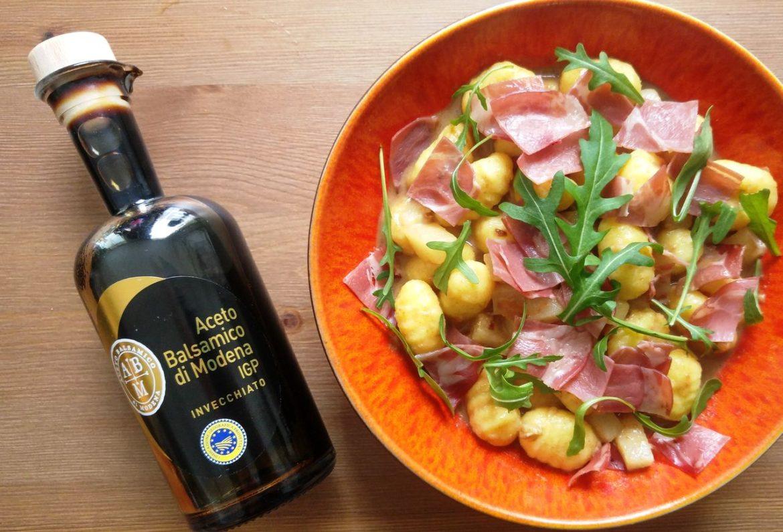 happycurio idée recette plat sucré salé vinaigre balsamique
