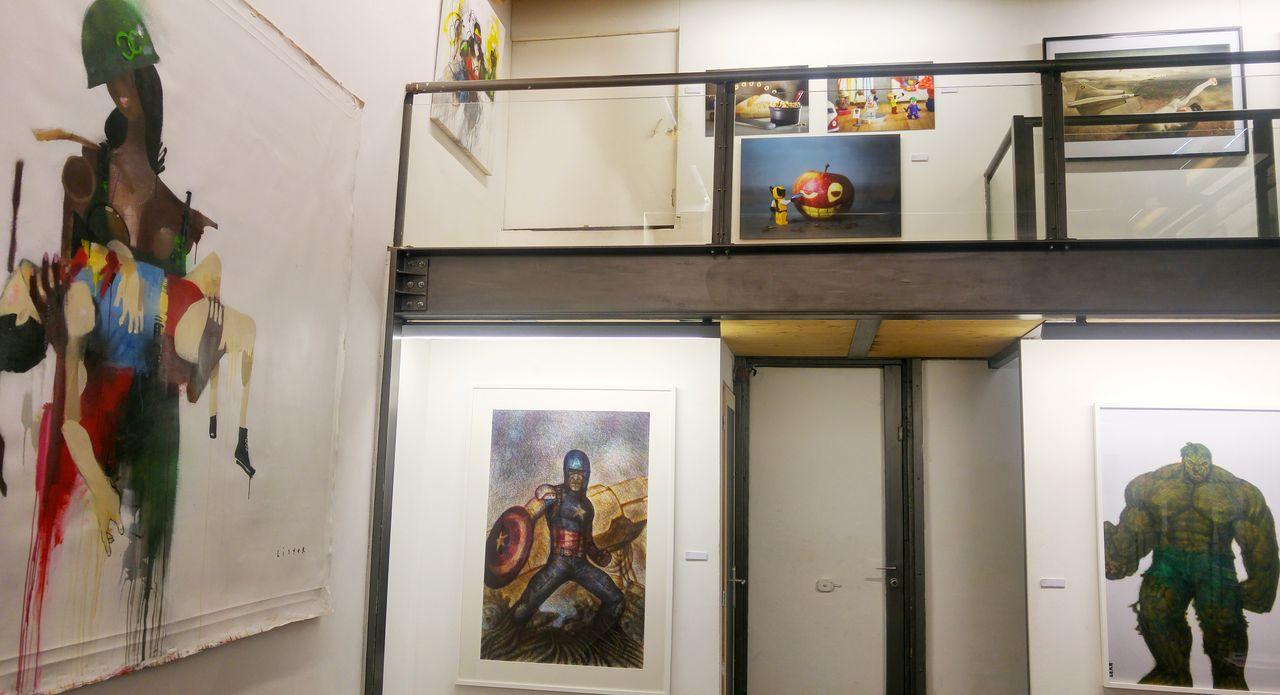happycurio super heros exposition spacejunk rue des capucins lyon