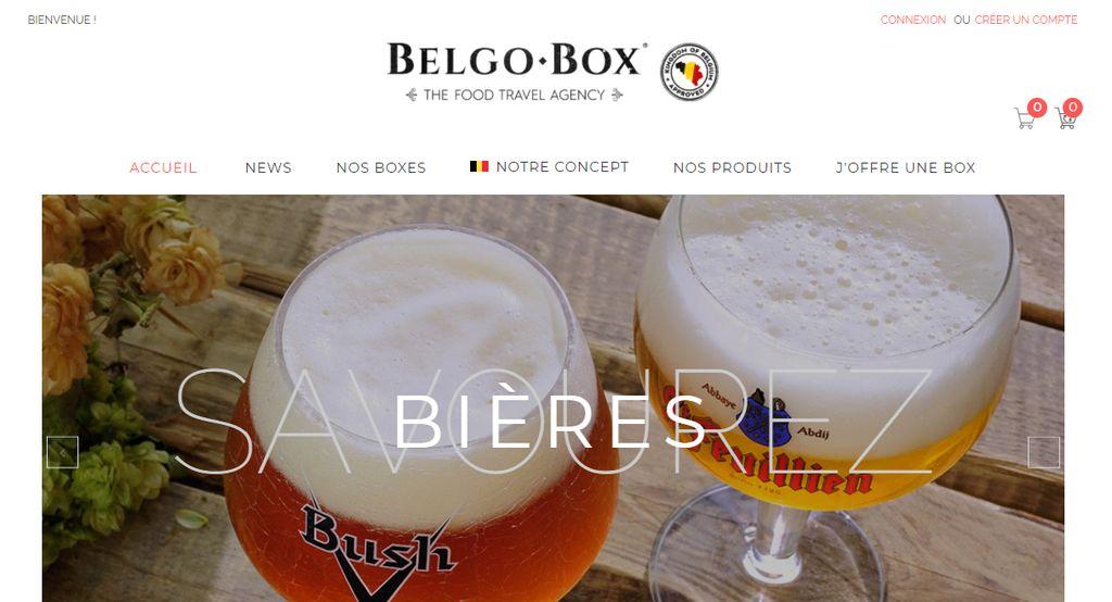 belgo box food travel agency boite de produits belges