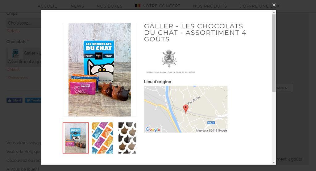 belgobox produits belges lieu fabrication