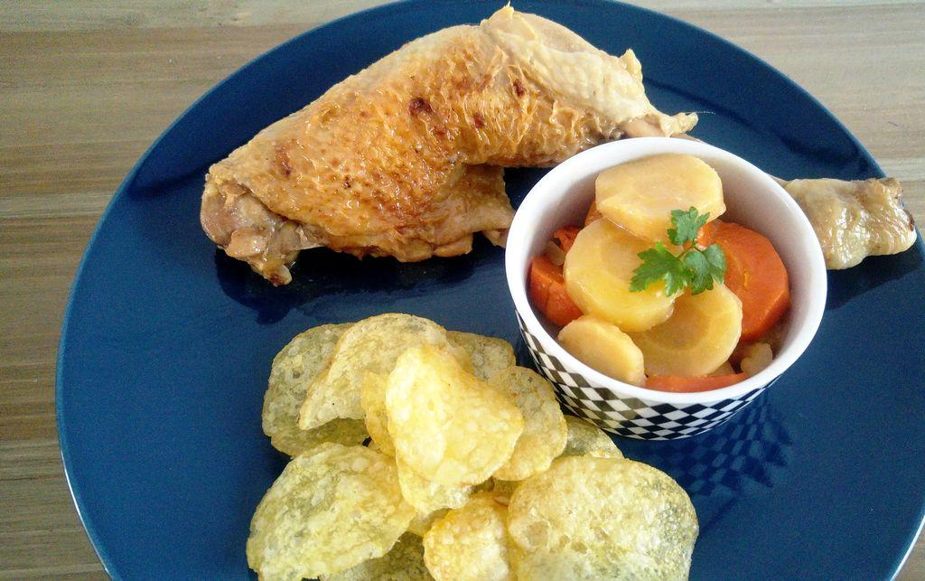 happycurio belgobox poulet biere recette chips carottes