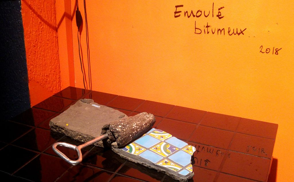 happycurio ememem bitume flacking street art exposition lyon