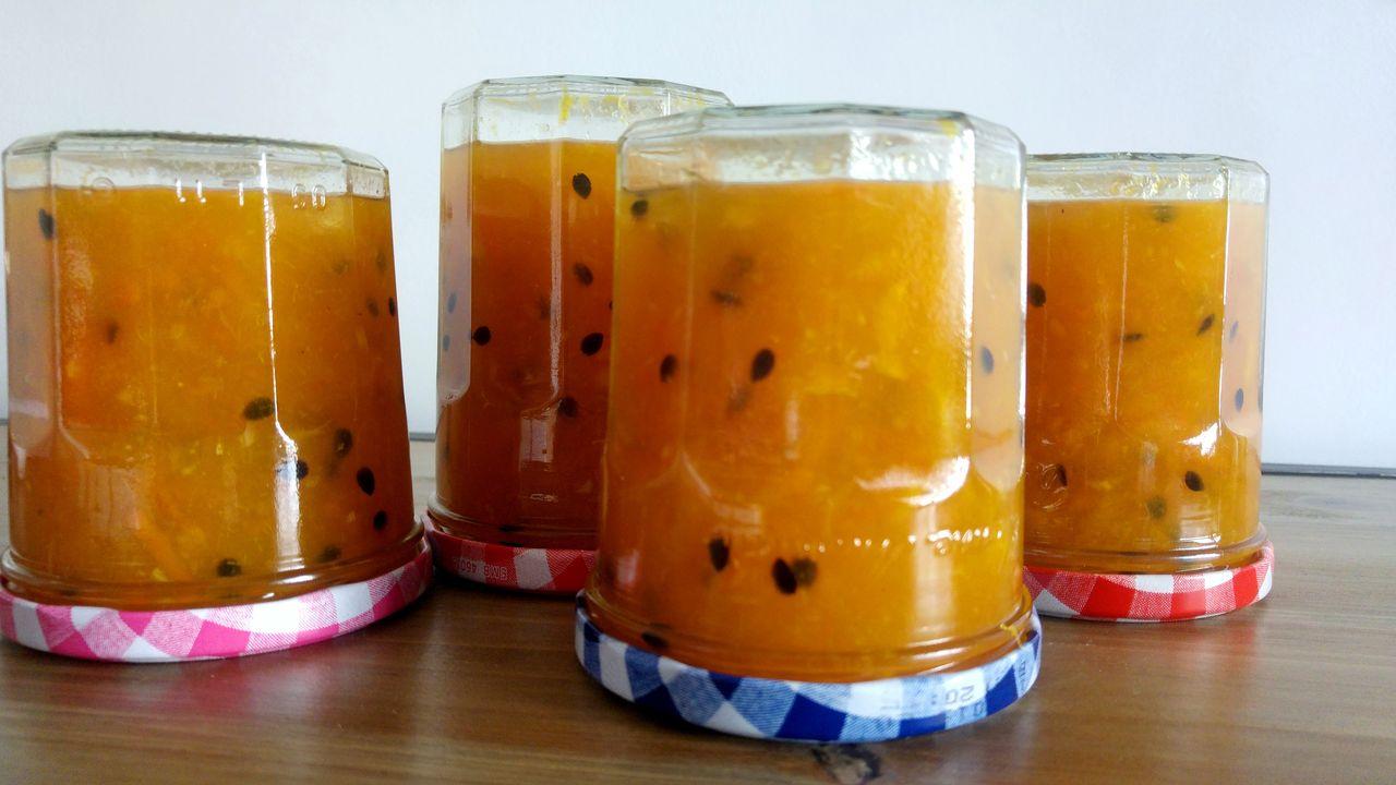 happycurio recette confiture maison oranges et fruits de la passion
