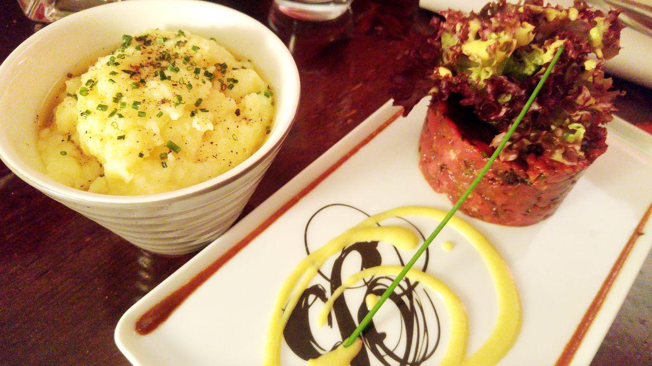 happycurio restaurant bistronomique lyon tartare de boeuf balthazart