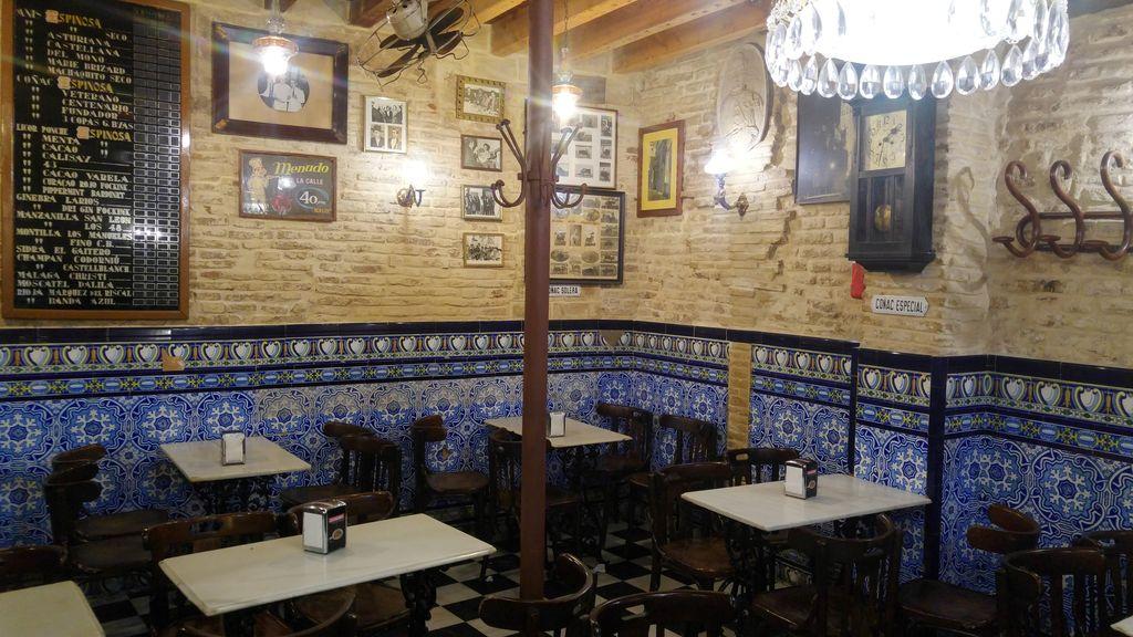 el comercio tapas bar seville chocolat churros