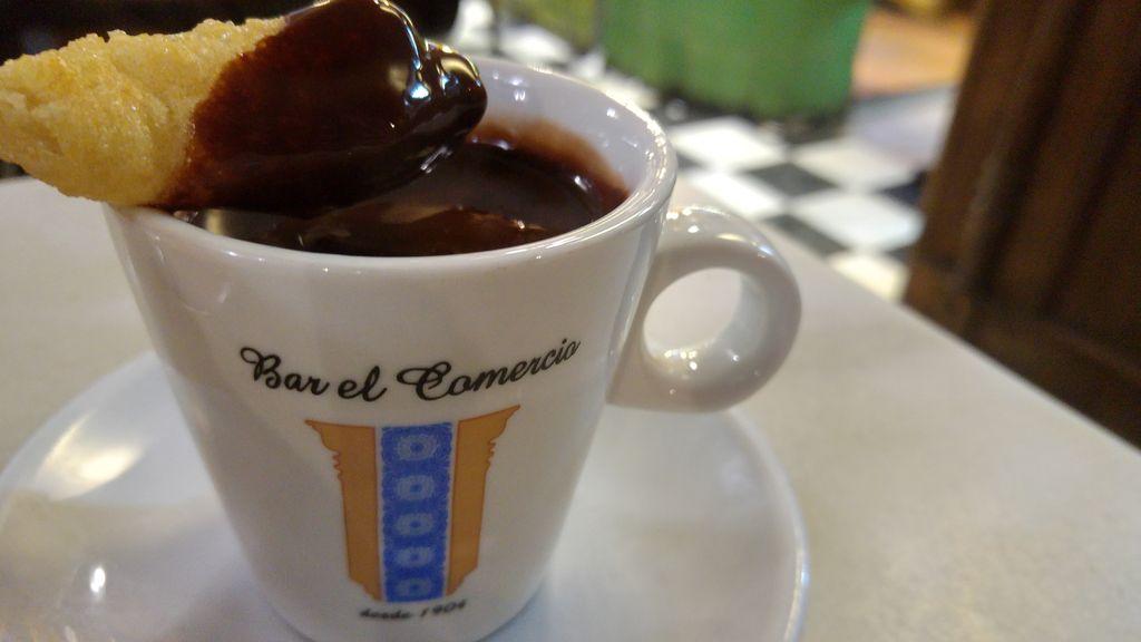happycurio bar el comercio seville chocolate churros