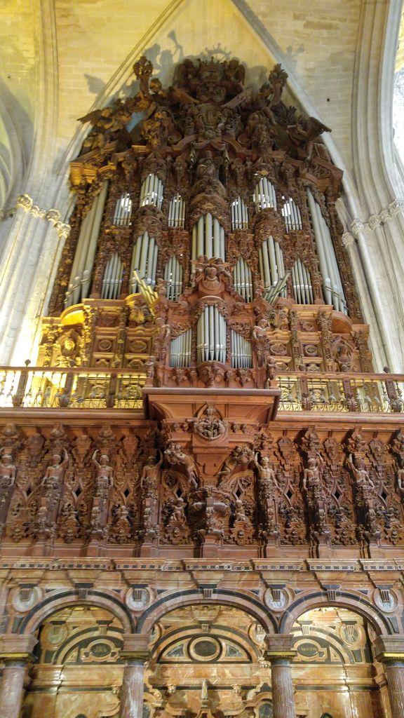happycurio cathedrale de seville orgue