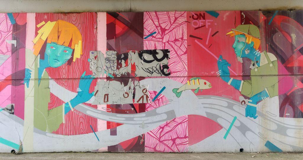 happycurio onoff au fil de l'eau street art avenue paris nord
