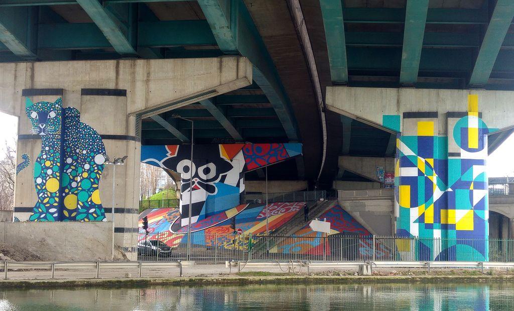 happycurio street art avenue zdey alexandra arango fimo et dizzy geometriks