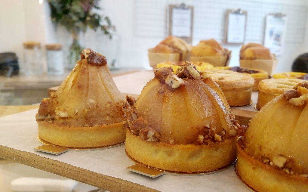 happycurio tarte poire pecan ohpe epicerie objets deco patisserie paris 10