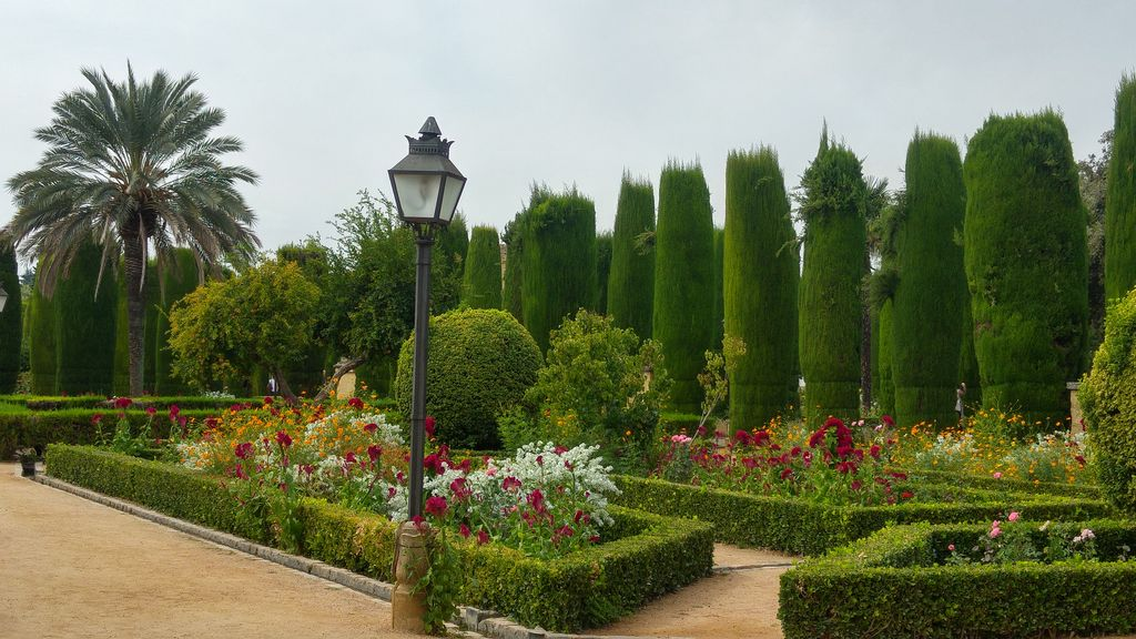 jardins Alcazar de los reyes cristianos