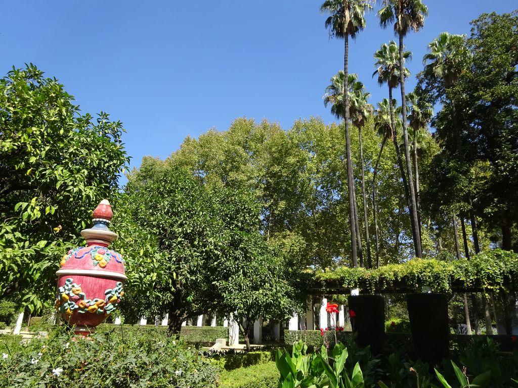 parc maria luisa seville plaza de espana