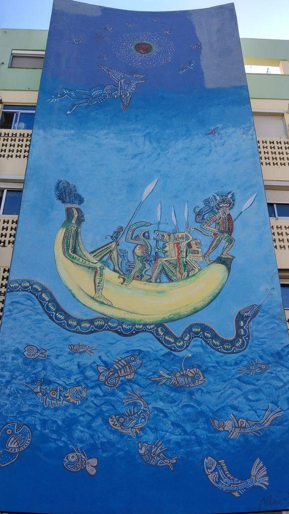 street art a seville rue efeso