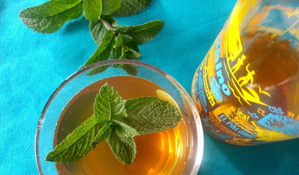 happy curio thé glacé pétillant sans alcool mojito