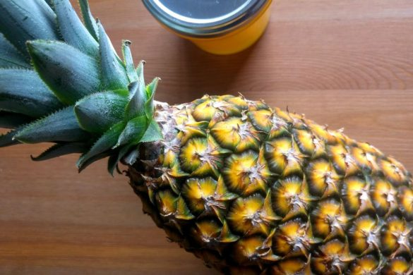 happycurio ananas pain de sucre pour confiture