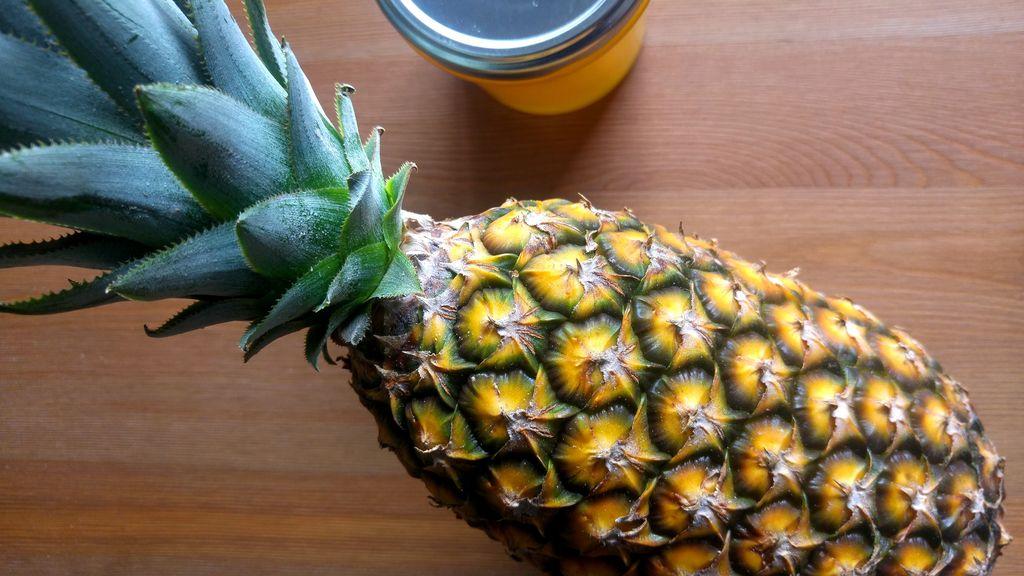 happycurio ananas pain de sucre pour confiture