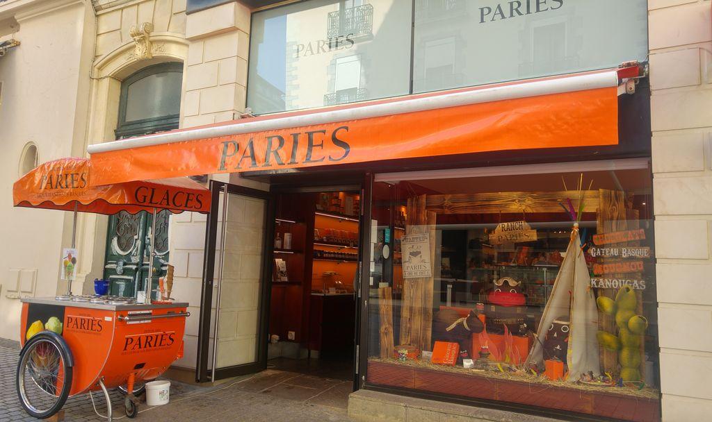 happycurio boutique pariès acheter meilleur gateau basque biarritz