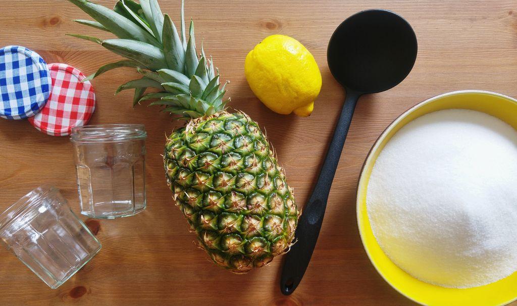 happycurio recette confiture ananas facile