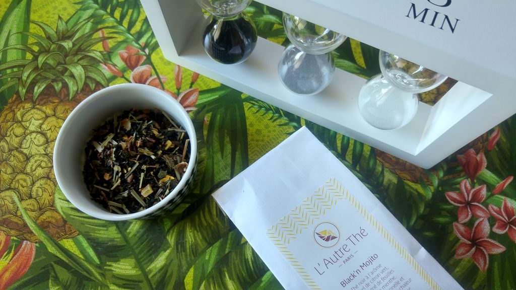 happycurio recette iced tea maison mojito