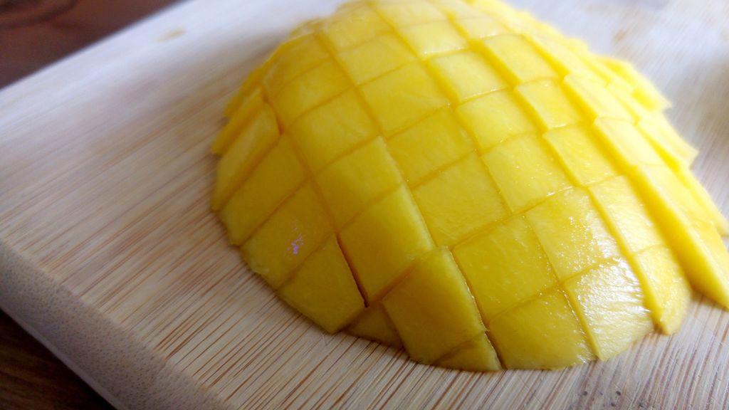 comment couper une mangue