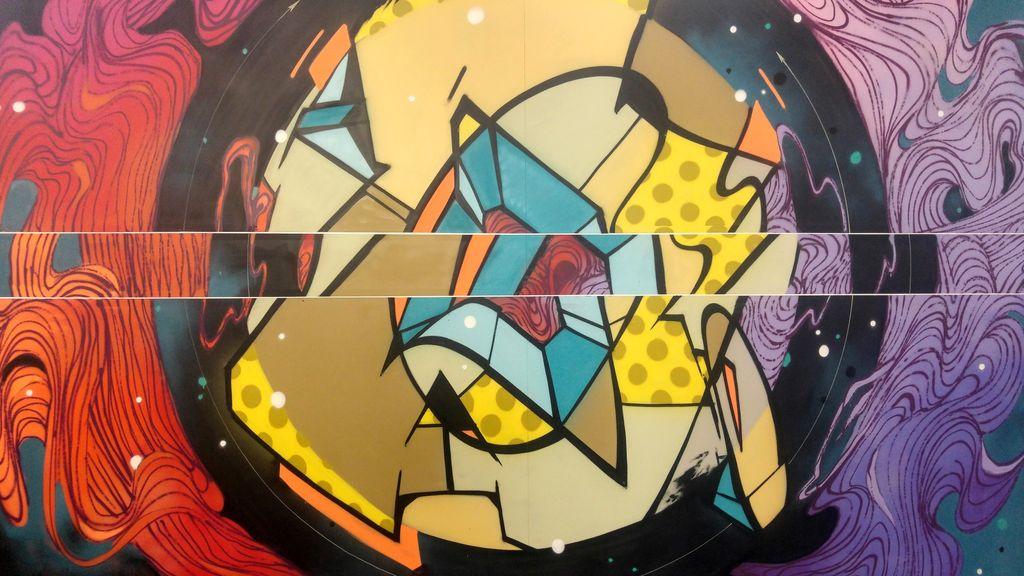 happycurio rezo street art zoo art show lyon