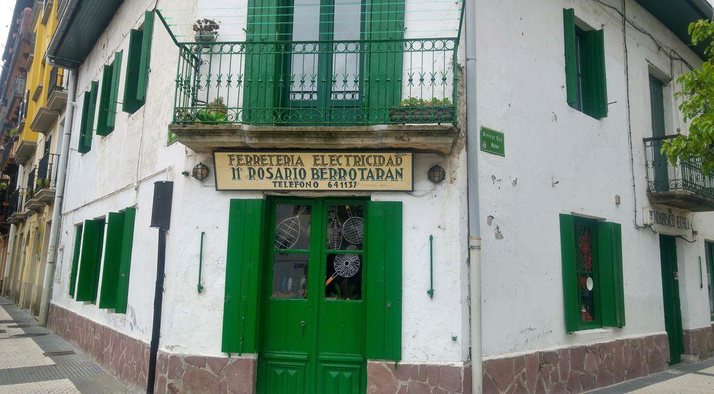 hondarribia typique vieille ville