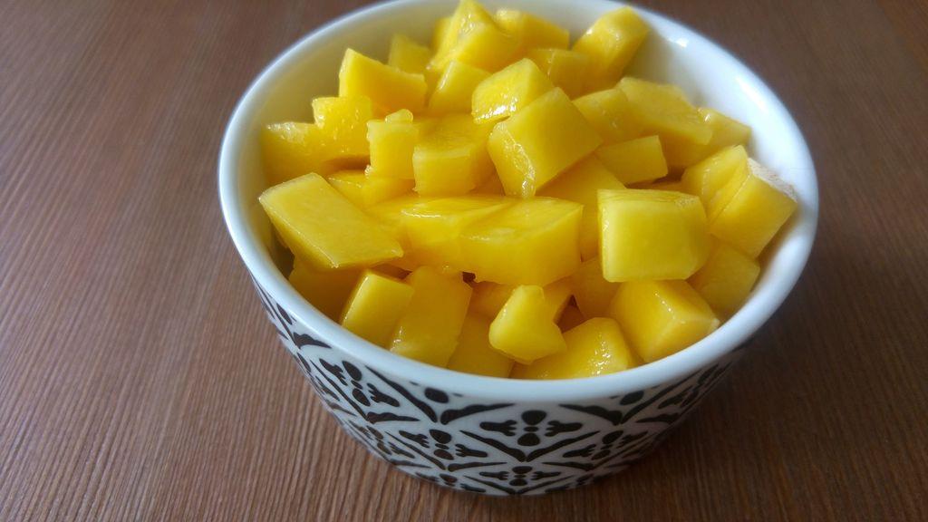 recette dessert mangue rapide