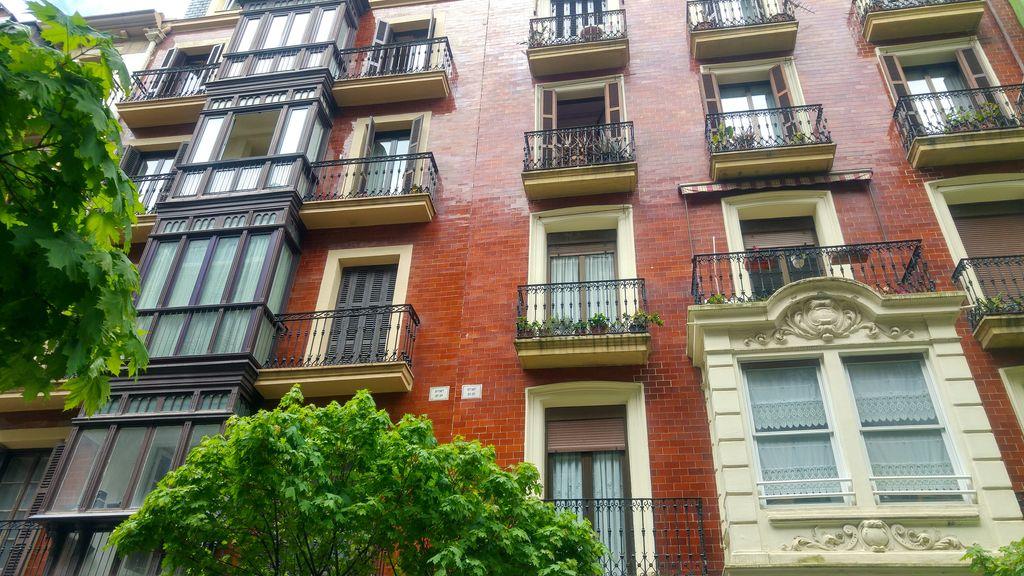 san sebastian balcon fenetre