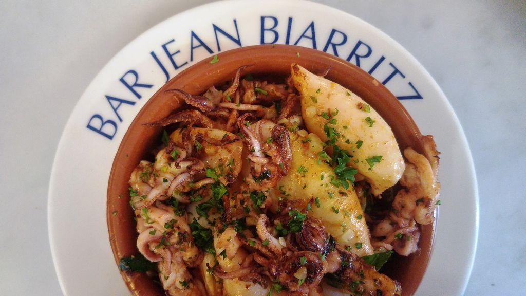 happycurio bar jean biarritz encornets chipirons plancha