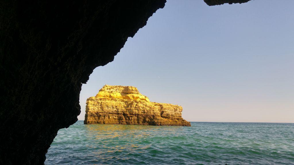 happycurio grotte albufeira algarve balade en bateau